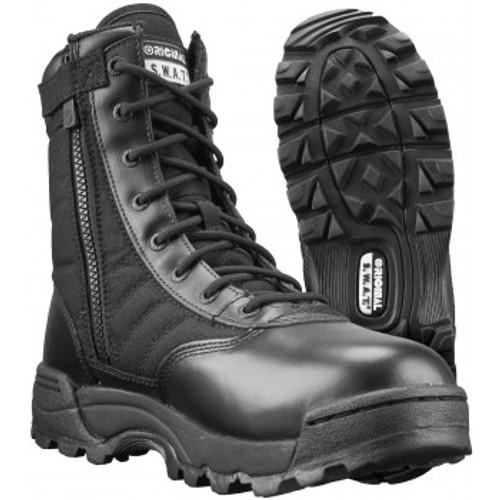 "Original S.W.A.T Classic 9"" Side Zip Boot - Black"