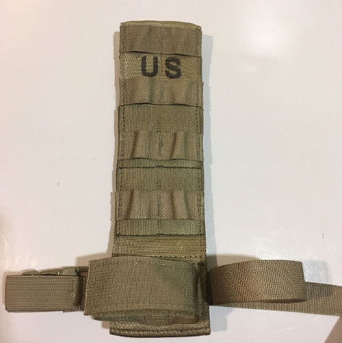 U.S. Armed Forces Molle Tactical Drop-Leg Holster Extender - Coyote Brown