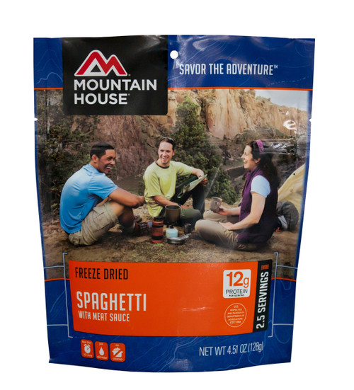 Mountain House Freeze Dried Entree - Spaghetti with Meat Sauce