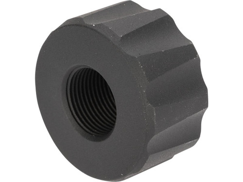 12mm to 14mm Thread Adapter for Battle Owl Tracer Unit (Color: Black)