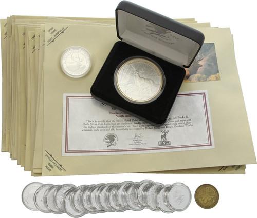 Wildlife Coin Assortment 50pc