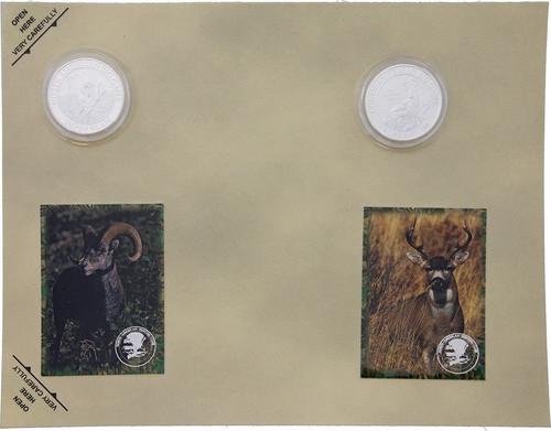 Collectible Coins Sheep Deer