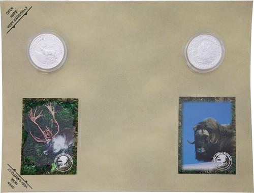 Collectible Coins Caribou Ox