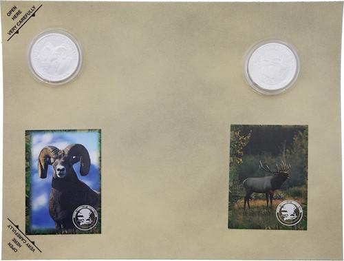 Collectible Coins Ram Elk