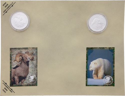Collectible Coins Sheep Bear