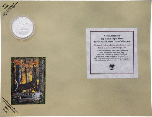 Collectible Coins Whitetail