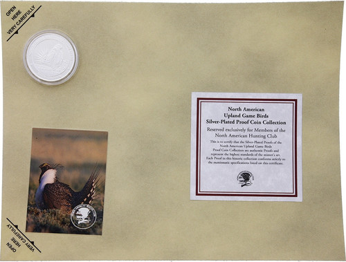 Collectible Coin Grouse H1592S