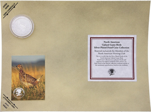 Collectible Coin Grouse H1587S