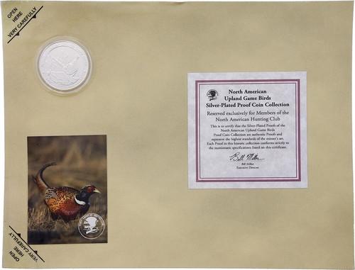 Collectible Coin Pheasant H1581S