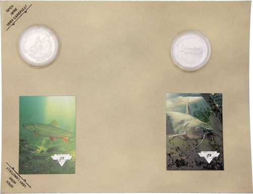 Collectible Coins TroutCatfish