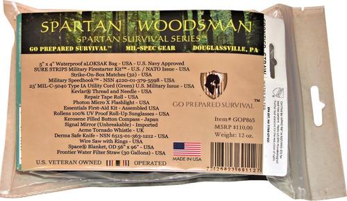 Spartan Woodsman Survival Kit