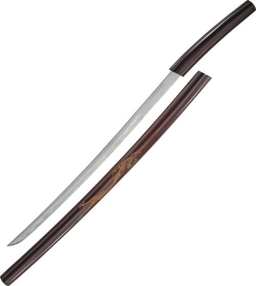 Curved Shirasaya Sword