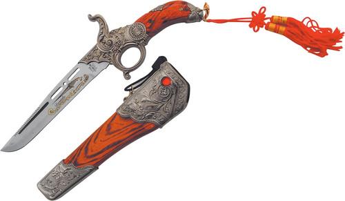 Gun Knife with Scabbard