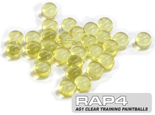 RAP4 Clear Training Rounds .68 Cal - Box Of 2000