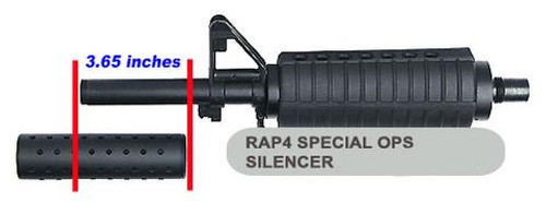 RAP4 Special Ops Thread-On Silencer (.68)