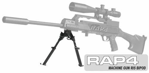 RAP4 Universal Machine Gun RIS Bipod Kit