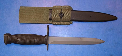 Canadian Armed Forces Nella C7 Bayonet w/Scabbard & Carrier