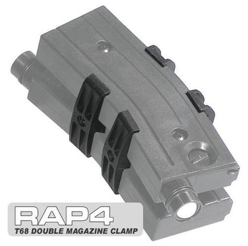 RAP4 T68 Paintball Gun Double Magazine Clamp (Set)