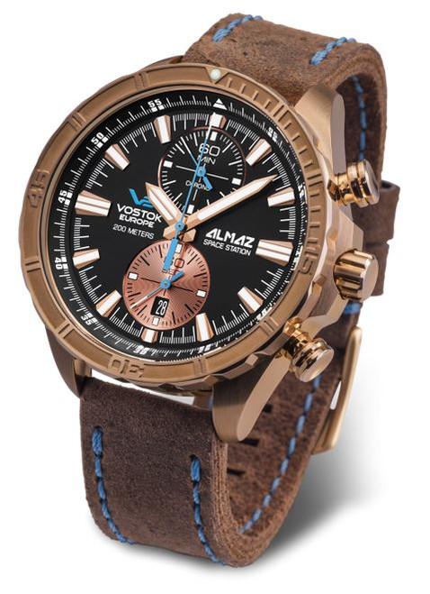 Vostok Europe Almaz Bronze Chronograph 320O266
