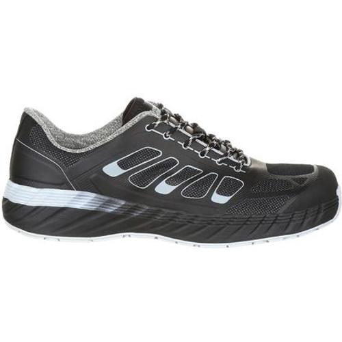 Georgia Reflx Alloy Toe Work Athletic Shoe - Black/Grey