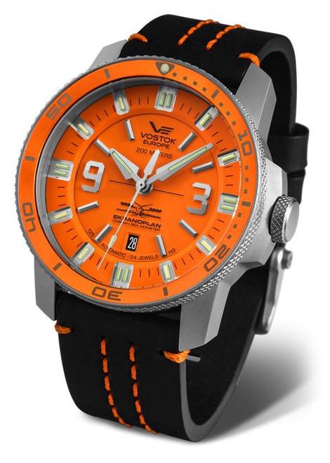 Vostok Europe Ekranoplan Sea Monster Auto Dive Watch 546A509
