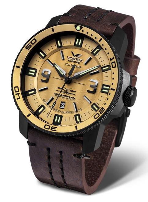 Vostok Europe Ekranoplan Sea Monster Auto Dive Watch 546C513