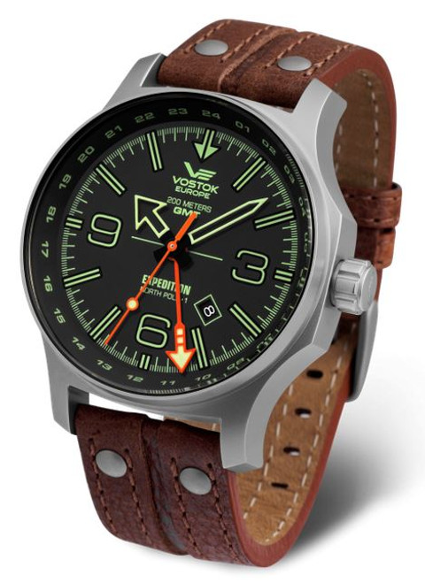 Vostok Europe Expedition North Pole 1 GMT 595A501
