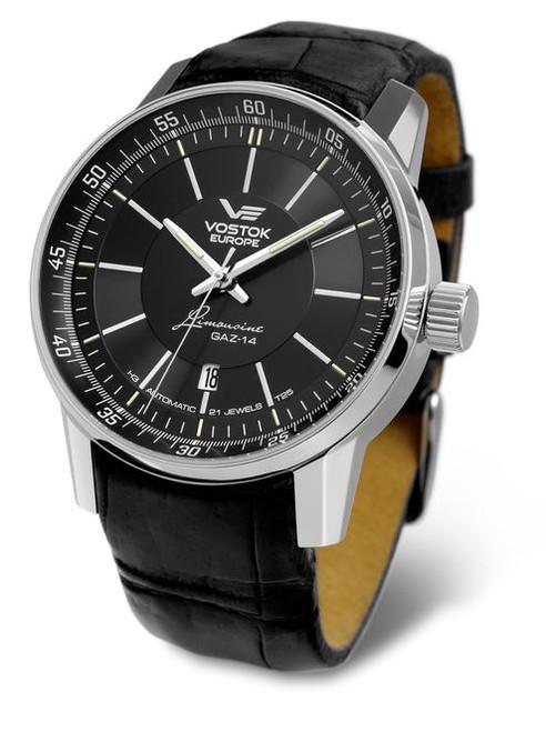 Vostok Europe Gaz Limo Automatic Tritium Watch - Black