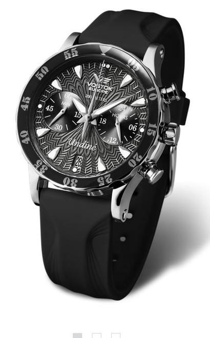 Vostok Europe Undine Chronograph Dive Watch 515A523