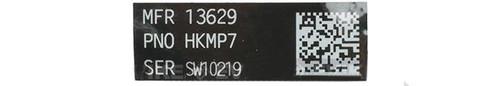 Blackjacks Weapon Code Label - HK MP7