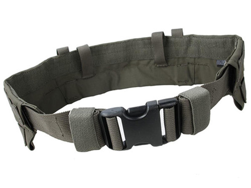 TMC Padded Modular Duty / Battle / Rig Belt (Color: Ranger Green / Medium)