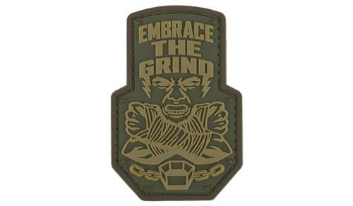 """Mil-Spec Monkey """"Embrace the Grind"""" PVC Morale Patch (Color: Multicam)"""