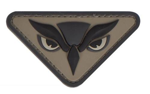 """Mil-Spec Monkey """"Owl Head"""" PVC Patch - ACU"""