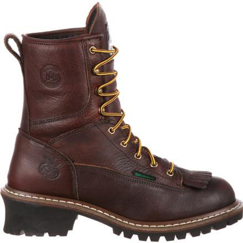 Georgia Boot Steel Toe Waterproof Logger Boot