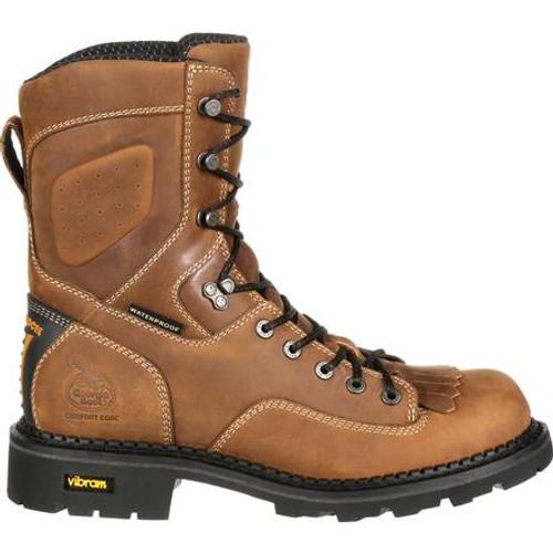 Georgia Boot Comfort Core Low Heel  Waterproof Logger Work Boot