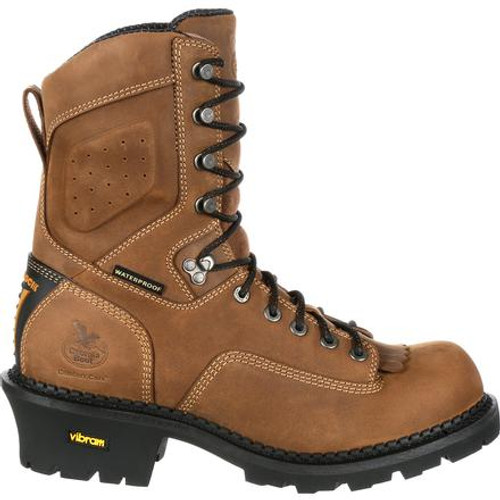 Georgia Boot Comfort Core Composite Toe Waterproof Insulated Logger Work Boot