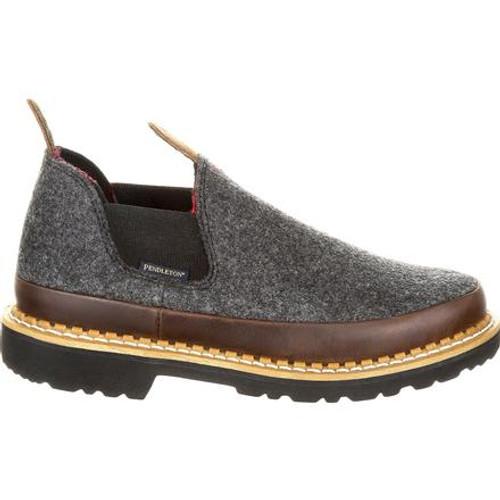 Georgia Giant Big Kid's Brow & Charcoal Pendleton Romeo Shoe
