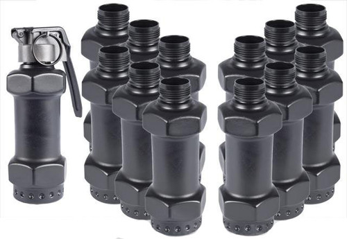 Thunder B Airsoft Co2 Simulation Grenade (Package: 12 Shell Set / Distraction Grenade)