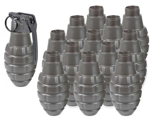 Thunder B Airsoft Co2 Simulation Grenade (Package: 12 Shell Set / Pineapple Shell)