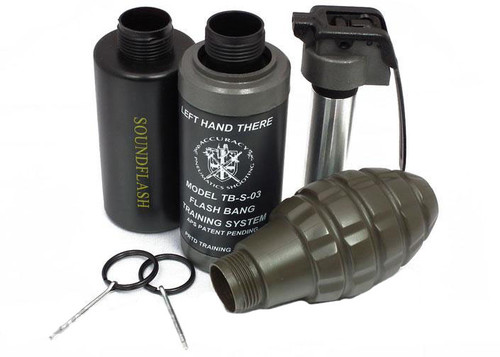 Thunder B Airsoft Co2 Simulation Grenade (Package: 3 Shell Set / Shell Sampler)