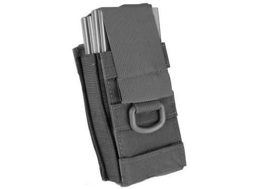 Black Owl Gear / Phantom Aggressor MOLLE Ready M4 AK MP5 Magazine Pouch - Single (Color: Black)