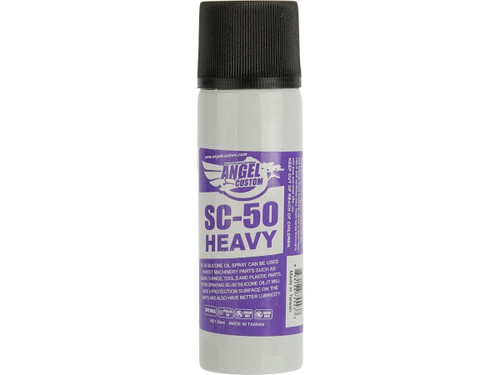 Angel Custom Silicone Oil Spray Airsoft Parts Lubricant 50mL Bottle - Heavy