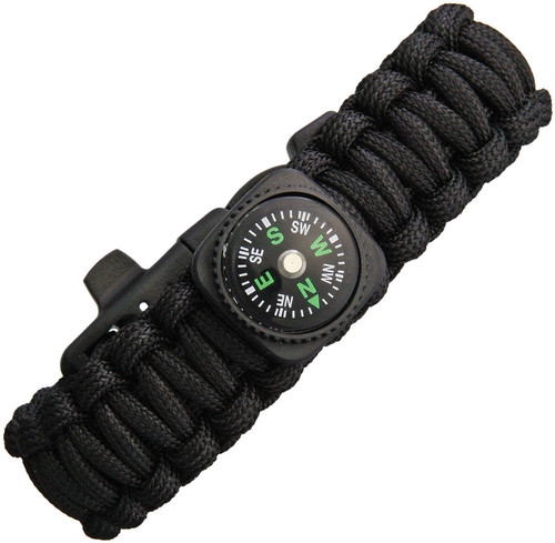 Paracord Bracelet With Compass
