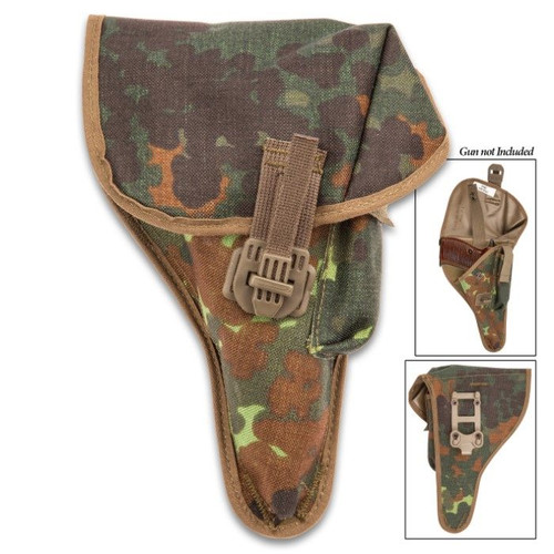 German Military Issue Flecktarn  Walther P1/P38 Holster  -New