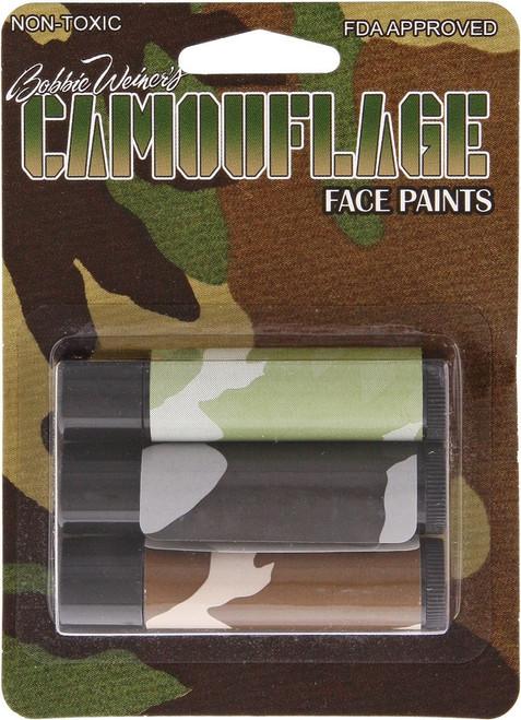Camo Facepaint Sticks
