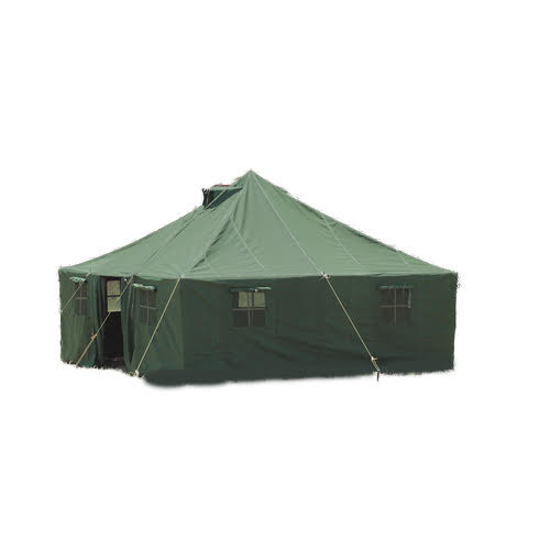 10' x 10' General Purpose Canvas Military Style Tent