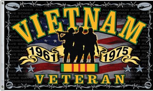 Vietnam Veteran Flag CPS36967