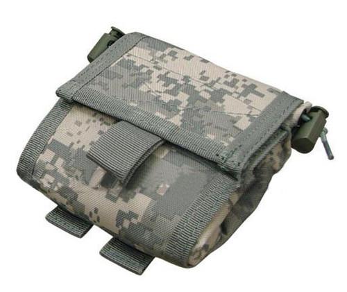 Black Owl Gear / Phantom Gear MOLLE Roll-Up Utility / Dump Pouch (Color: ACU)