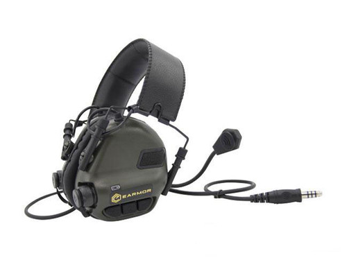 Earmor M32 Electronic Communication Hearing Protector (Color: Black)