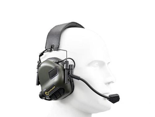 Earmor M32 MOD1 Electronic Communication Hearing Protector (Color: Foliage Green)